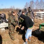 Пейнтбол в Подмосковье и Калужской области