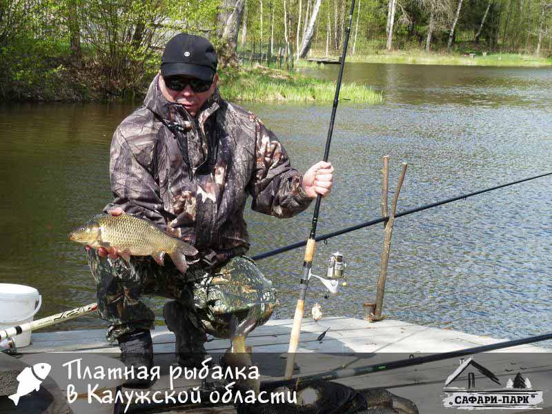лучшая рыбалка в калуге