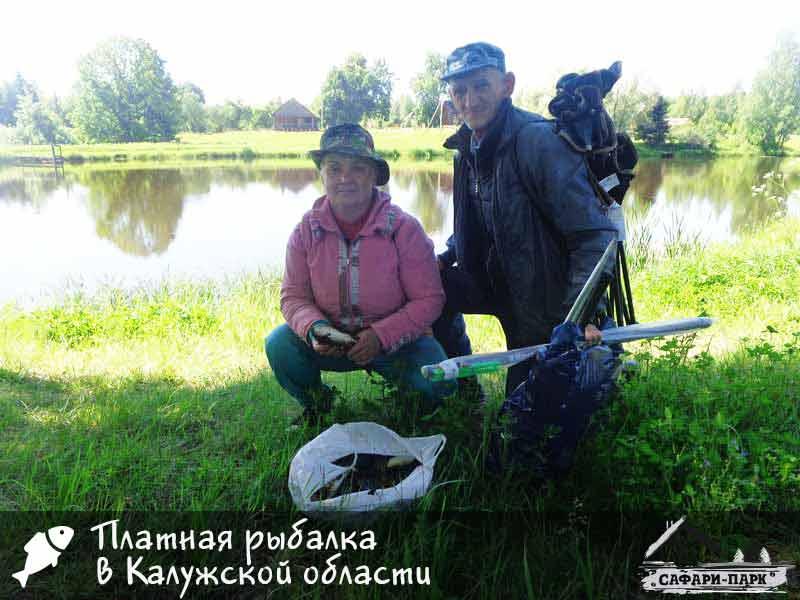 платная рыбалка в лукошкино
